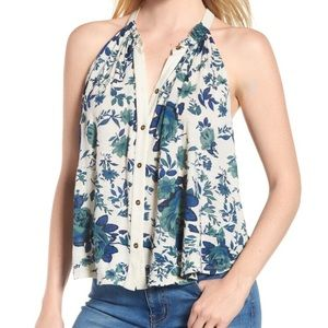 Lucky floral top